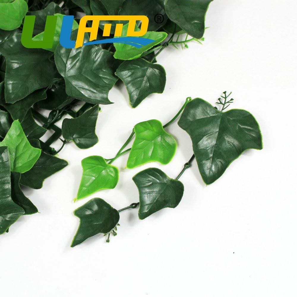 ULAND 25x25 cm pc Künstliche Buchsbaum Laub UV Innen Kunststoff