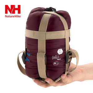 Image 3 - NatureHike New Arrival Outdoor Envelope Ultralight Hiking Camping Mini Ultra Small Size 1900mmx750mm Sleeping Bag