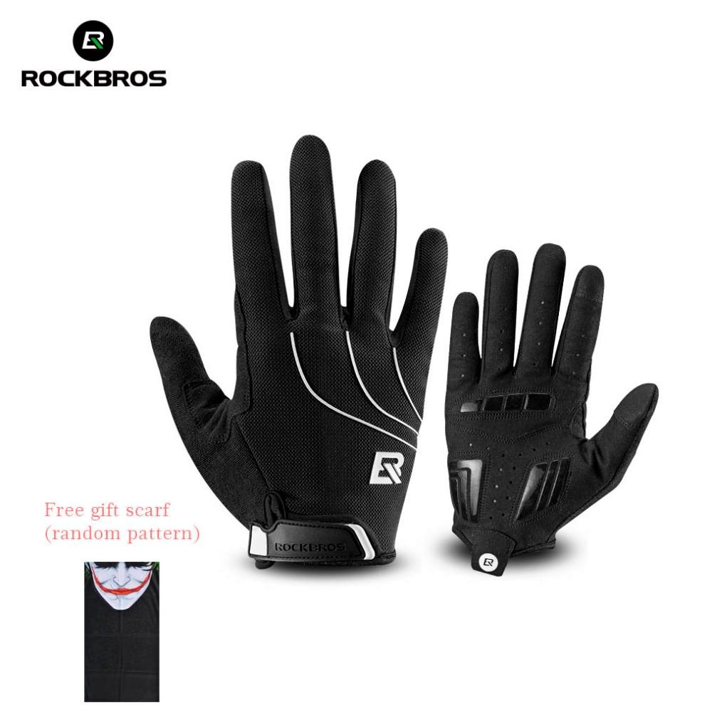 ROCKBROS Windproof Cycling Bicycle <font><b>Gloves</b></font> Touch Screen Riding MTB <font><b>Bike</b></font> <font><b>Glove</b></font> Thermal Warm Motorcycle Winter Autumn <font><b>Bike</b></font> Clothing