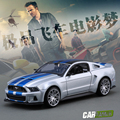 Diecast 1:24 Nice Mustang Model Need for Speed Mustang GT Alloy Cars Models  Metal Car For Collection Car LoversFree Shipping