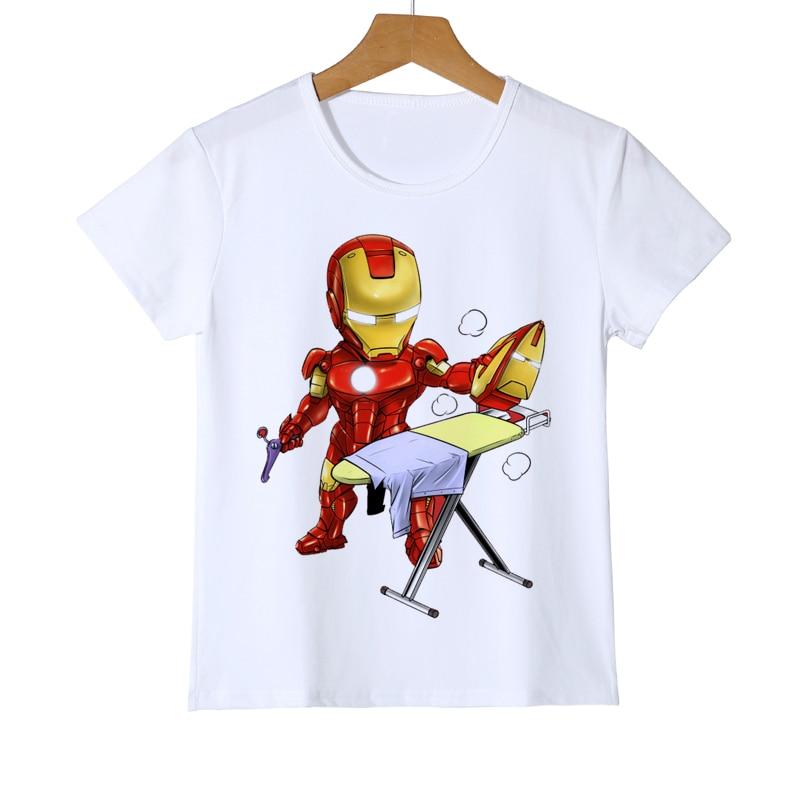 Fun Kirby Boys Girls Outdoor Short Sleeve T-Shirt Child Unisex T-Shirt Top Navy
