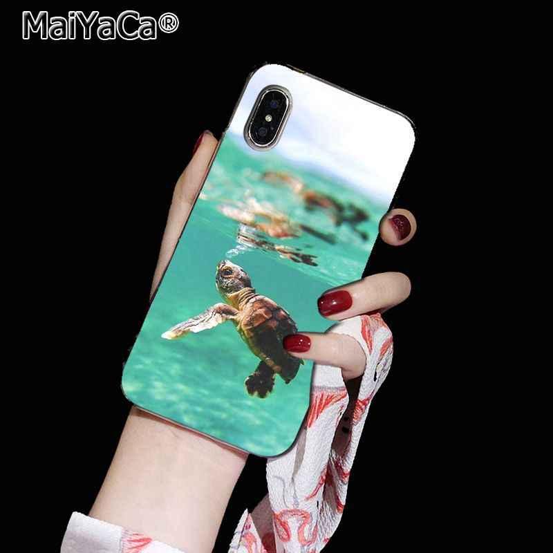 MaiYaCa Marine สีเขียวเต่าใหม่มาถึง Fundas โทรศัพท์มือถือสำหรับ Apple iphone 11 pro 8 7 66S Plus X XS MAX 5S SE XR