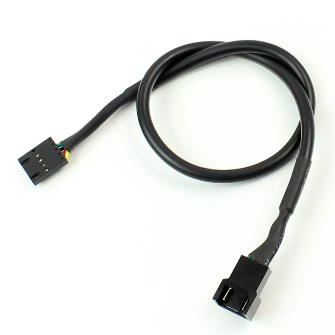 40cm 5Pin To 4Pin Fan Connector Adapter Converter Extension Cable Wire For Dell Styles 5 Pin Latch Styles PC Laptop