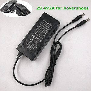 Image 1 - 29.4V 2A Hovershoes Batterij Oplader Voor Elektrische Sakteboard Hovershoes Zelfbalancerend Slimme Elektrische Hover Rolschaatsen Schoenen