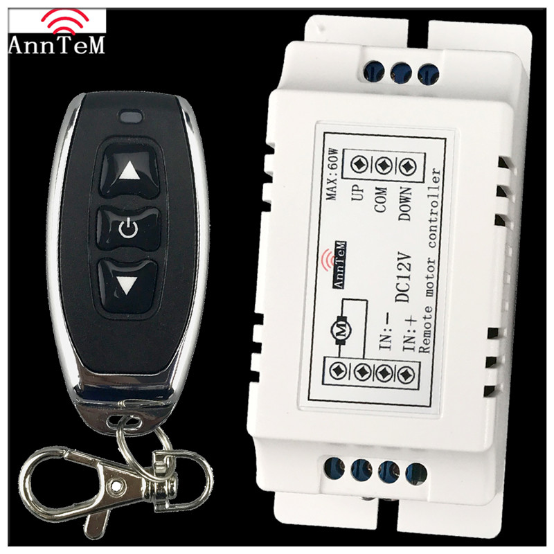 US $10 65 18% OFF|Anntem 433mhz Universal brand Up&Down Wireless Remote  Control Switch DC 9v to12v Motor Controller Forward Reverse Switchs-in  Remote
