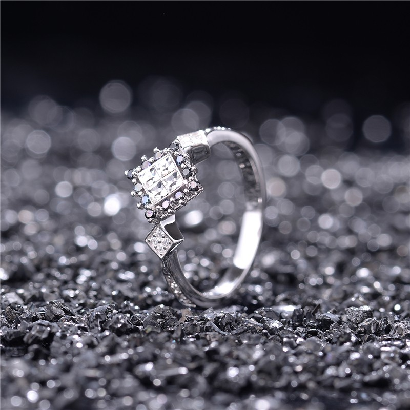 Wedding Rings Bague Femme Rings For Women 925 Sterling Silver Jewelry 925 Sterling Silver Ring Women Fashion Jewelry Accessories  (4)