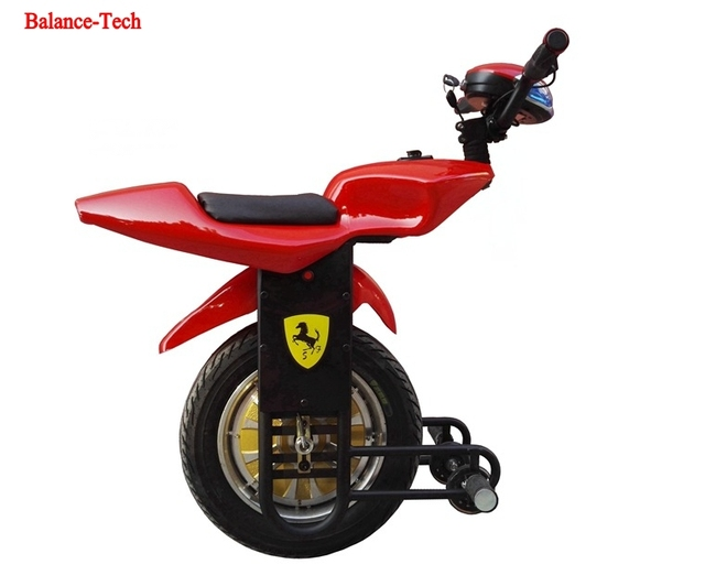 one wheel scooter 15 inch double tires 20km h unicycle. Black Bedroom Furniture Sets. Home Design Ideas