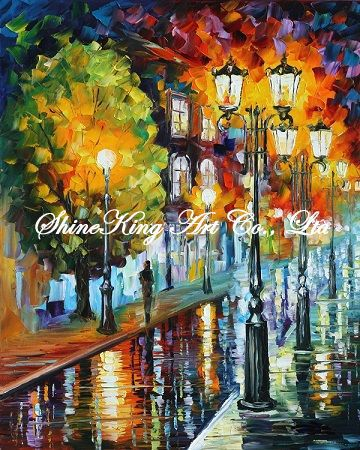 palette font b knife b font oil painting modern oil painting canvas oil painting K428