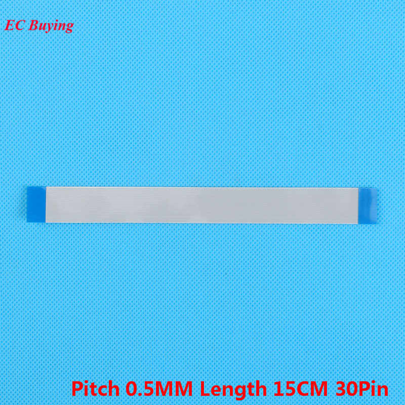 5 Pcs 30Pin FFC 150mm Panjang 30 Pin Kabel Pita Datar kabel Ke Depan Arah 0.5mm Pitch 15 cm Panjang Sama 30 Pins Untuk TTL