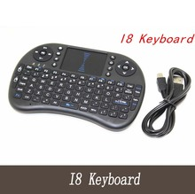 Rii i8 Keyboard English Air Mouse Multi-Media Remote Control Touchpad Handheld for Android TV& Laptop Tablet Mini PC
