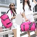 Alta Calidad de la Lona Fribics Impermeable Femenina Mochila 2 Color Y 2 Tamaño Disponible bolso Nuevas Mujeres de Viaje de Asas Del Viaje bolsa