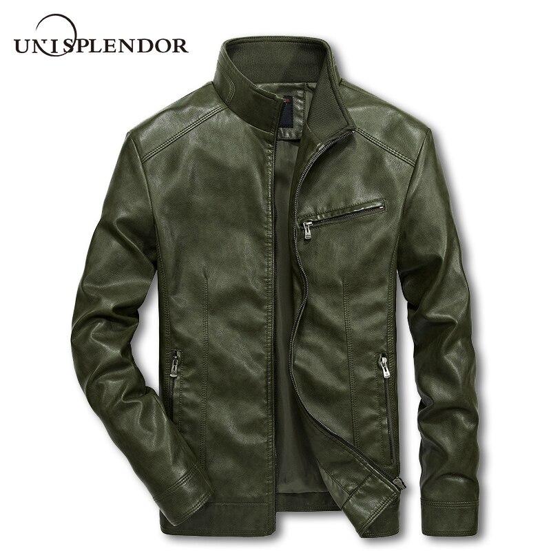 2018 Brand Men Motorcycle Leather Jackets 4XL 5XL Man Motobiker Cool Coat Male Streetwear Mans Bomber Suits Windbreaker YN10247