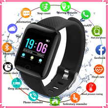 цена на Smart Watch Men Waterproof Heart Rate Monitor Reloj Inteligente Fitness Tracker Smartwatch Women GPS Watches For Android IOS