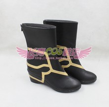 FGO Fate Grand Order Caster Merlin Ambrosius Cosplay boots shoes customize any size(China)