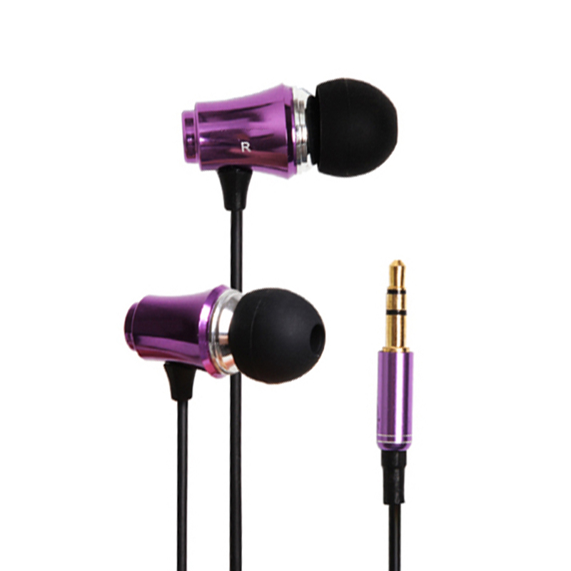 In-Ear Earphone Earphones Earbuds Stereo With Microphone For Sony Xiaomi Mobile Phone Mp4 Computer Game mp3 Sport PC Gaming