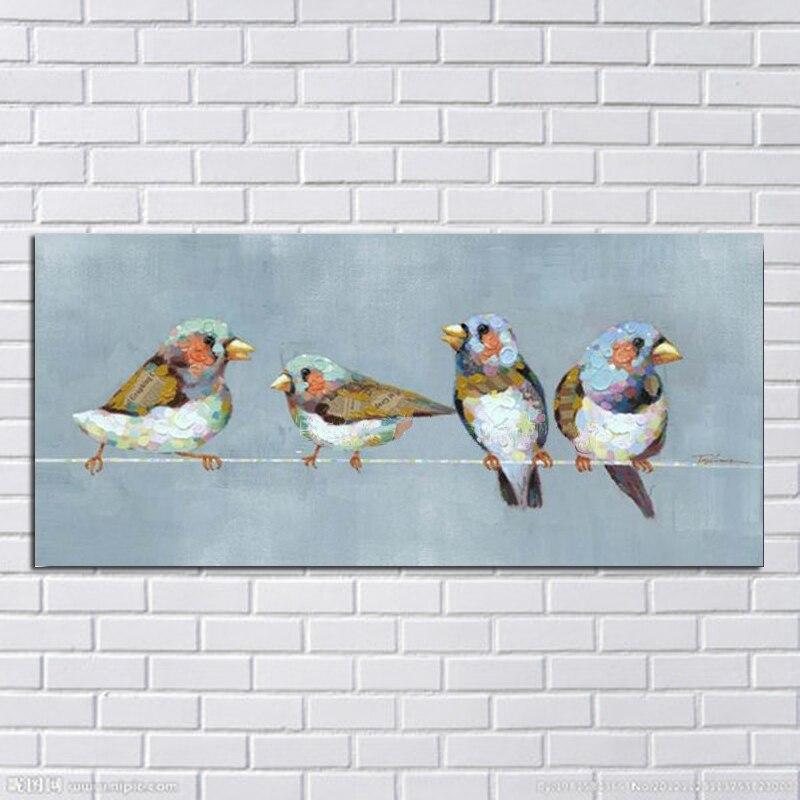 ̿̿̿(•̪ )Grand 1 Morceau de Toile Art 100% peint À la Main Abstrait ... 3cdd9832c517