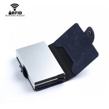 Double Aluminium Box Credit Cards Holders – RFID  Block