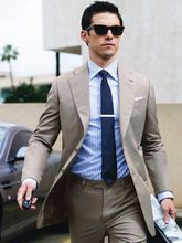latest coat pant designs Gray Casual Man Blazer 2 Pieces Mens Wedding Prom Party Suits Custom