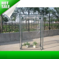 Hot Sale Plant flowers Mini Garden Greenhouse Winter Flower House Small Foldable Greenhouses Clear Plastic Film Foil Cover