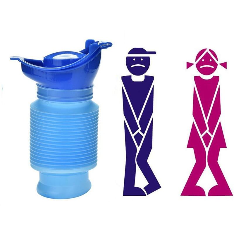 цена на Reusable Portable Travel Urina Camping Car Wee Portable Travel Urinal Female Home Travel Emergency Women Pee Standing Urinals