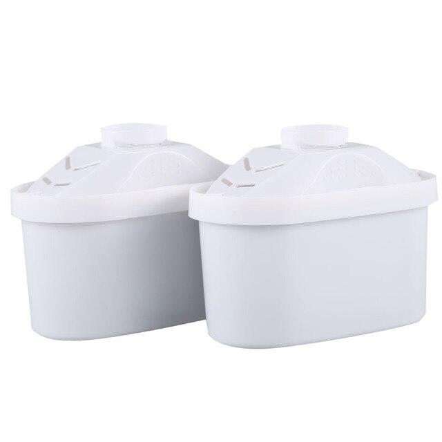 Nouveau filtre à eau remplacement 2 Pcs/Lot pour Brita filtre à eau remplacement de filtre utilisation générale activer filtre à eau en carbone