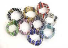 Qingmos Оптовая Продажа 10x многоцветный перегородчатый браслет