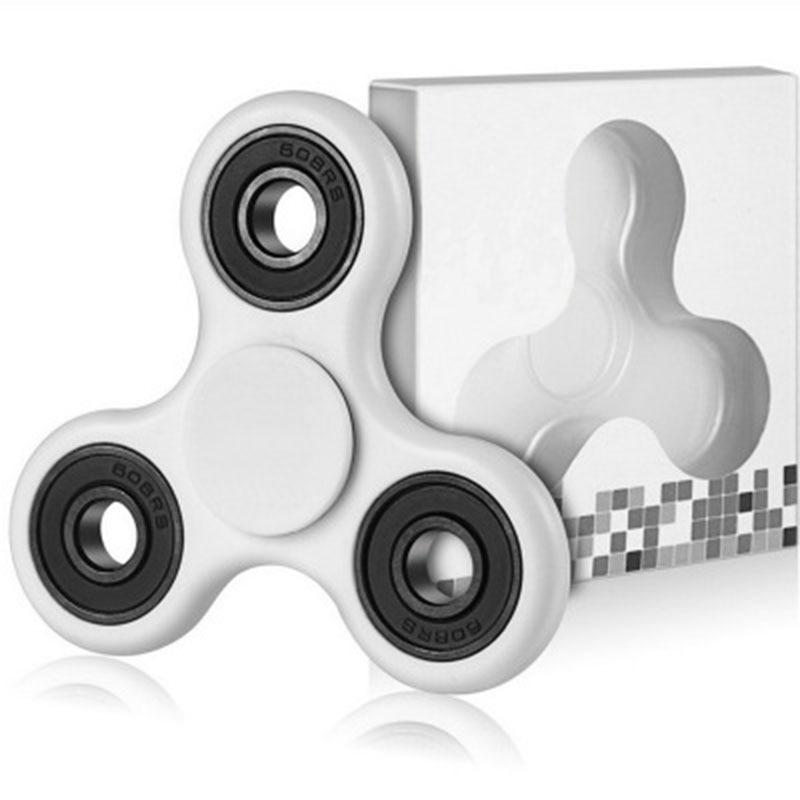 Kids Gift Mini Fidget Hand Spinner For Adults Children Anti Stress Focus Gyro Finger Spinner Gyroscope Children Funny Leaf Toys