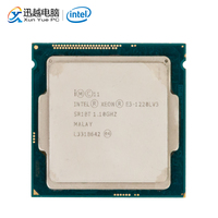 Intel Core E3 1220L V3 Desktop Processor E3 1220L V3 Dual Core 1.1GHz 4MB L3 Cache LGA 1150 Server Used CPU
