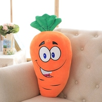 large 70cm cartoon carrot soft plush toy throw pillow birthday gift b0895