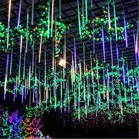 50CM 8pcs Set Meteor Shower Rain Tube LED Christmas Light LED String Lights Wedding Garden Xmas