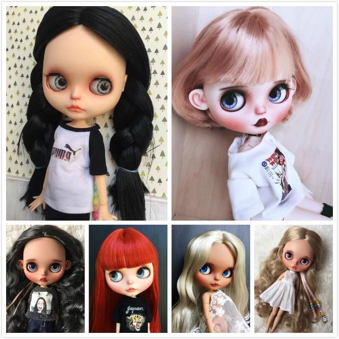 Blyth girl Customized doll Face NO QAQ0306 2