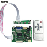 7inch 8inch AT070TN90 92 94 LCD Driver Board For Car With Remote Control Key Board Car