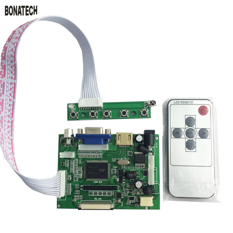 7inch 50pin AT070TN90/92/94 LCD driver board for car with remote control + key board car back off projection7inch 50pin AT070TN90/92/94 LCD driver board for car with remote control + key board car back off projection