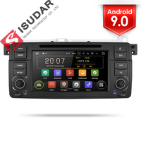 Isudar 2 Din Auto Radio Android 9 For BMW/E46/M3/MG/ZT/Rover 75/320/318/325 Car Multimedia Video DVD Player GPS Navigation DVR