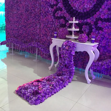 Artificial Silk Rose Wedding Trailing Flower For Desk Table Wall Decoration Silk Hydrangea Road lead Wedding Decoration Backdrop