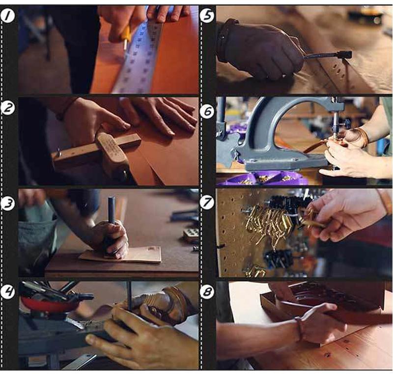 حزام COWATHER جلد طبيعي للرجال 44