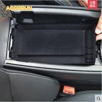 AOSRRUN Central armrest box store content box phone cover Car Accessories FOR Mercedes Benz C Class W205 C180L C200L C260L