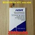 2600 mah de alta capacidad incorporada en el uso de la batería para htc one mini m4 601 s/e/n 603e bo58100
