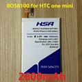2600mah high capacity The built-in Battery Use for htc one mini m4 601s/e/n 603e BO58100