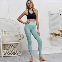 FDBRO 2019 New Women Camouflage Fitness Yoga Pants Girl Sport Leggings Camo Seamless High Waisted Sports