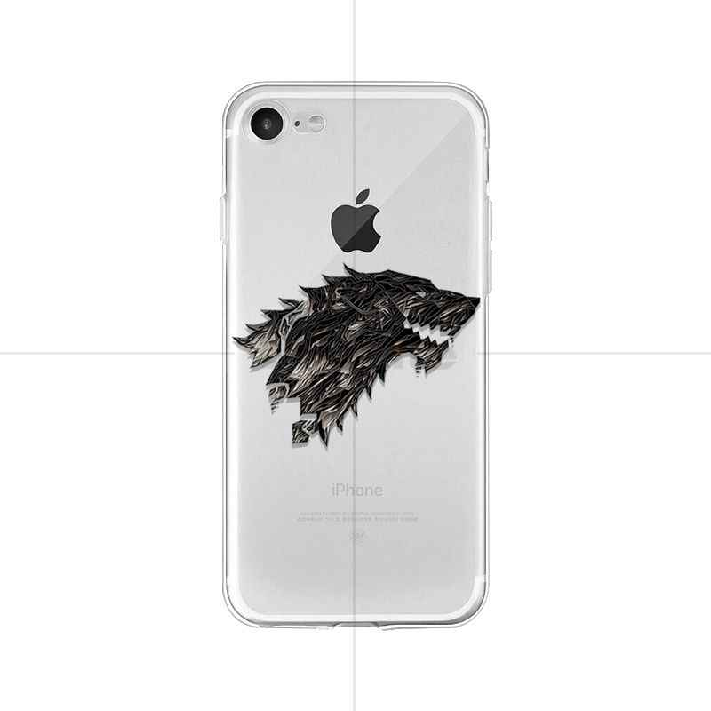 Babaite Game of Thrones Cao Cấp Lai Ốp lưng điện thoại Apple iPhone 8 7 6 6S 6S Plus X XS Max 5 5S SE XR Bao