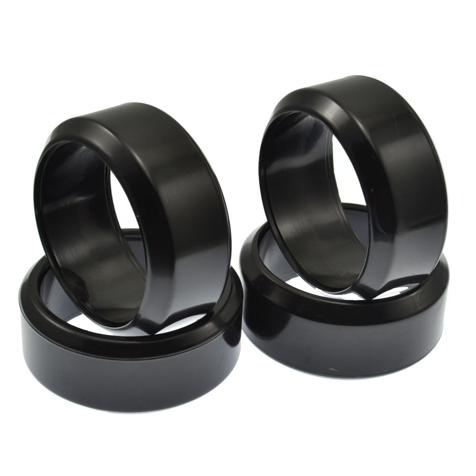 For RC Racing Speed Drift Tires 26mm Hard Tyre 4P 1:10 On-Road Drifting Car mxfans 4 x drift tires