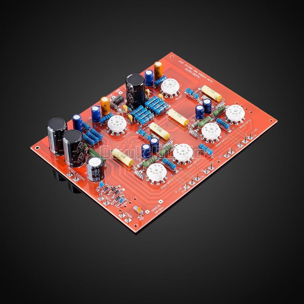 Douk audio Hi end Stereo Push Pull Audio Note EL84 PP Vaccum Tube Amplifier PCB DIY