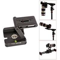 Pro Tripod Heads Solution Photography Studio Camera Tripod Z Pan & Tilt Flex Tilt Head Aluminum Alloy for Canon Nikon DSLR