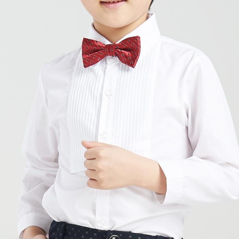 Free shipping baby long sleeve white shirt child shirt