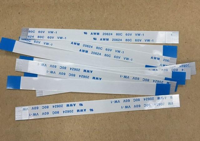 100 pçs/lote para controle de ps4, cabo de carga da tomada jds 001 14pin jds 011 12pin flex