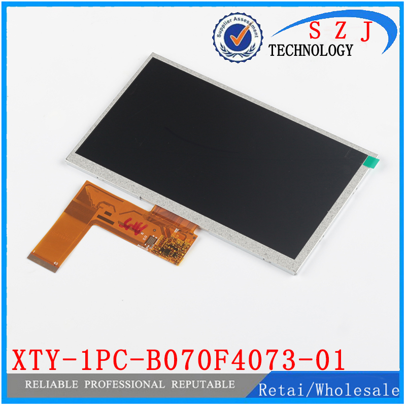 Original 7'' inch LCD Display Screen Panel Repair Parts Replacement XTY-1PC-B070F4073-01 R42R41C30 LCD screen Free shipping hp 828a magenta laserjet drum cf365a