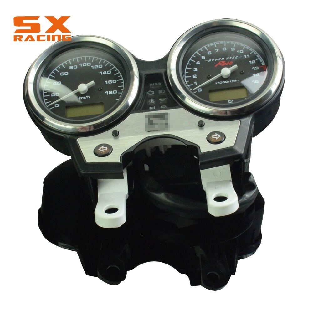 Мотоциклов streetbike спидометра метр Тахометр Измерительные приборы для Honda CB400 CB 400 SF VTEC IV 2008-2012 08 09 10 11 12