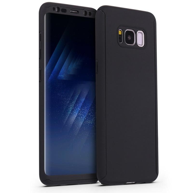 Lyxig 360 hårt matt PC-fodral för Samsung S8 Slim Full Body Cover - Reservdelar och tillbehör för mobiltelefoner - Foto 5