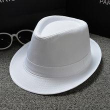 Stile britannico uomini e donne paio neutro di colore solido cappello di  jazz paio di modelli cappello Panama cappello superiore 5fa904b630ea